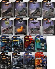 Batman 75 Years / Jahre-Hot Wheels Original Packaging Select: Scale 1:64/1:50