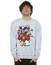 Marvel Men's Comic Characters Sweatshirt