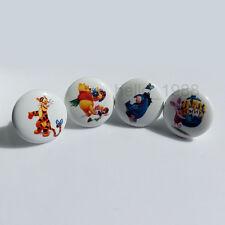 Cute Lovely Animal Ceramic Cabinet Knob Handle Kid's Room Drawer Pull Knob Boys