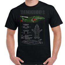 Thunderbird 2 Schematic Adult T-Shirt