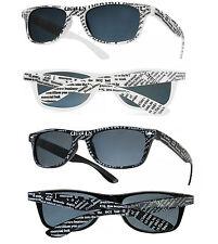 Mujeres Hombres Gafas de sol periódico Clásico Marco Cuadrado Diseño Fiesta Gafas