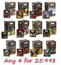 Apsara Black Green Herbal Fruit Tisane White tea bags, Чай в пакетиках, Tēja