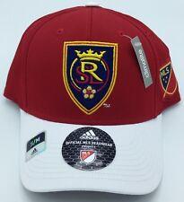 7ff917de363 ... new zealand mls real salt lake adidas structured design under brim flex  fit cap hat new