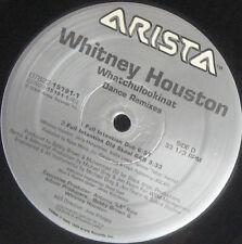 "WHITNEY HOUSTON 12"" X 2 Whatchulookinat USA THUNDERPUSS Club Dub 5 MIXES Old Sko"