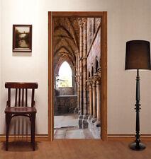 3D Old Pillars 452 Door Wall Mural Photo Wall Sticker Decal Wall AJ WALLPAPER UK