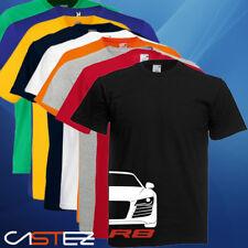 Camiseta coche german basado audi r8 S supercoche deportivo ENVIO 24/48h