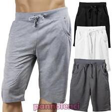 bermudas hombre pantalones chándal fitness deportes mezcla de algodón K3006