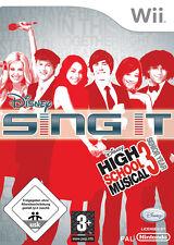 Disney Sing It: High School Musical 3-senior year (Nintendo Wii, 2008,...