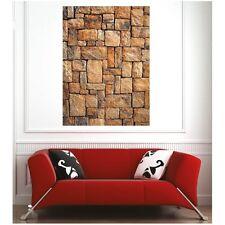 Affiche poster mur en pierre56095027