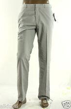 NEW INC STANDARD FIT WINTER GRAY FLAT FRONT LONDON DRESS PANTS 34 X 34