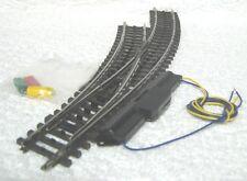 Märklin 2268 K rail Linkse meegebogen wissel met aandrijving 75491 30°. Nieuw