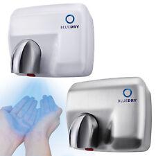 Bleu Sec Tempête buse à la main sèche air électrique Eco Fast Force DEL Séchoirs Toilette