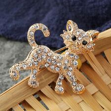 Katze Form Damen Brosche Weihnachten Deko Frauen Herren Brosche Anzug Brooch