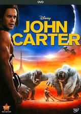 John Carter (DVD, 2012) Very Good FAST SHIPPING