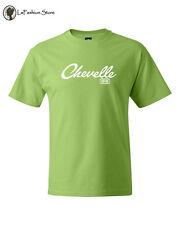 Chevelle SS Chevrolet Classic Car Logo Tee Vintage Shirts