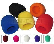11 Farben Windschutz Windscreen Windshield für Headset-Mikrofone 65x40 mm