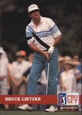 1992 Pro Set Golf Card #52 Bruce Lietzke