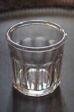 Ancien joli pot à confiture - 10 facettes (5) - 375