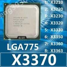 Intel Xeon x3210 x3220 x3230 x3320 x3330 x3350 x3360 x3363 x3370 lga775 CPU