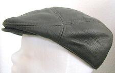 Leder 100% Sportmütze Mütze Cap Flatcap