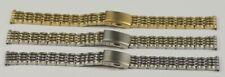 Reloj Pulsera Correa Hebilla De Tipo Empuje 12 mm 14 mm 16 mm Oro Plata 2 tonos reparaciones