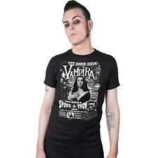 Kreepsville 666 Vampira Spookathon Horror Punk Emo Goth Mens Tee Shirt MTVST