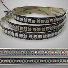 WS2812B 5050 RGB LED Streifen Band 144 LEDs/M Addressable Digital Pixel für Auto