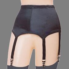 Rago Six Strap Soft Shaping Garter Belt & Stockings Style 3184 XL-2X Black