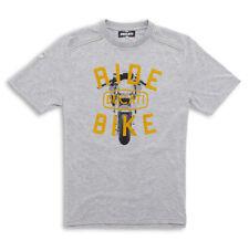 DUCATI METROPOLITAN Ride SS14 kurzarm T-Shirt grau LIMITIERT NEU !!