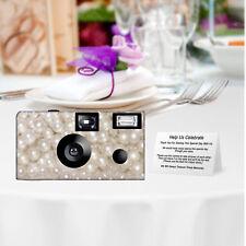 5 Pearls Disposable Cameras-wedding camera/anniversary