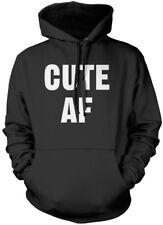 Cute AF - Cutie Hipster Unisex Hoodie