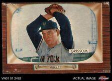 1955 Bowman #123 Marv Grissom Giants FAIR