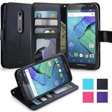 Motorola Moto X Pure Edition / X Style  Housse Coque Etui de luxe Portefeuille