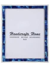 Handicrafts Home 8x10 Foto Marco Mosaico Vendimia Pared Decoración Regalo Marcos