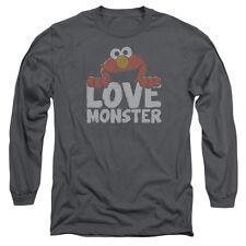 SESAME STREET LOVE MONSTER T-Shirt Men's Long Sleeve
