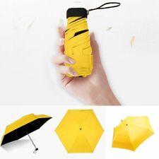 Euramerican style 8 Ribs Compact Umbrella Folding Reverse Rain Sun Windproof