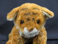 HAMBURG GERMANY GREEN EYED LIFELIKE BANGLE TIGER CUB PLUSH STUFFED ANIMAL TOY
