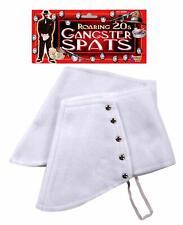 Spats 20's Era / Steampunk Felt Shoe Spats Gangster/ Victorian Costume Access