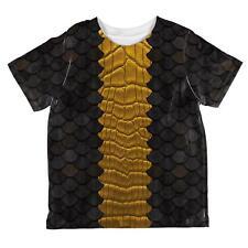 Halloween Black Dragon Costume All Over Toddler T Shirt