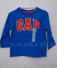 Gap Toddler Boy Arch Logo Tee Shirt  long Sleeve Top NWT
