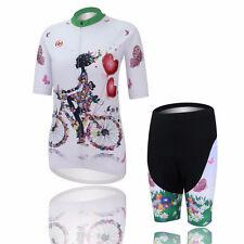 Women's Cycling Clothing Bike Bicycle cycling jersey & Trouser Sets Sportwear