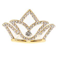 Fille princesse strass tiare couronne avec peigne couronne de forme de fleur