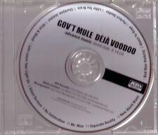 "GOV`T MULE ""Déjà Voodoo"" US Advance Promo CD"