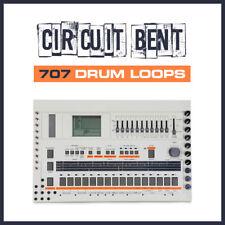 CIRCUIT BENT 707 Drum Machine Boucles-WAV-ableton cubase fl studio logic pro