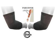 Solace cuidado de carbón de bambú Manga Codo codo de tenista Envoltura Artritis Sport (par)