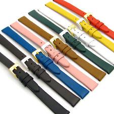 EXTRA-LUNGA XL Belle pelle di vitello Cinturino orologio donna con 12mm 14mm un sacco di colori