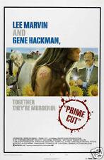 Prime cut Lee Marvin Gene Hackman vintage movie poster
