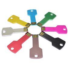 wholesale 16GB,32GB USB 2.0 Flash Drive Metal Key Shape Pen drive (UK)
