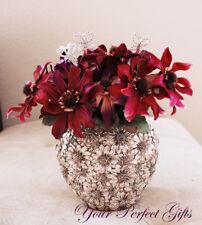 3 Crystal Rhinestone Butterfly Bouquet Jewelry Silver BJ004