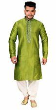 Men's Kurta Shalwar Kameez Pyjama Sherwani Asian Wedding Party Outfit 1831